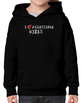 I Love Accessible Girls Hoodie-Girls