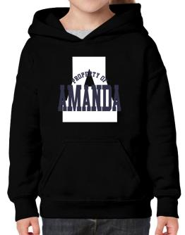 Property Of Amanda Hoodie-Girls