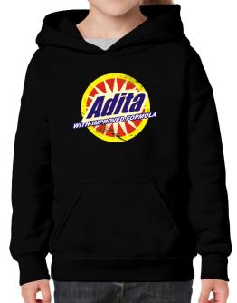 Adita - With Improved Formula Hoodie-Girls