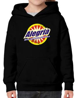 Alegria - With Improved Formula Hoodie-Girls
