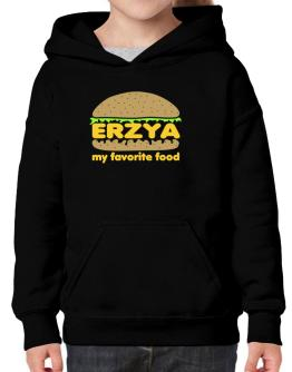 Erzya My Favorite Food Hoodie-Girls