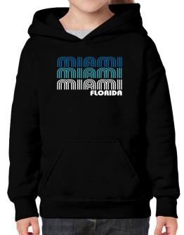 Miami State Hoodie-Girls