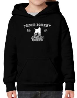 Proud Parent Of Afghan Hound Hoodie-Girls