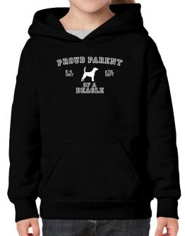 Proud Parent Of Beagle Hoodie-Girls