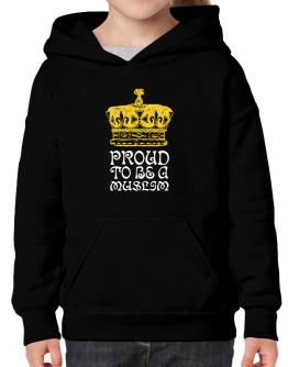 Proud To Be A Muslim Hoodie-Girls