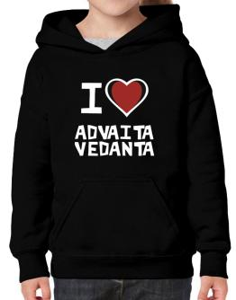 I Love Advaita Vedanta Hoodie-Girls