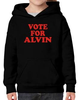 Vote For Alvin Hoodie-Girls