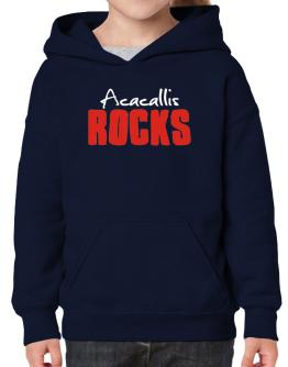 Acacallis Rocks Hoodie-Girls