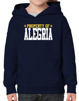 Property Of Alegria Hoodie-Girls