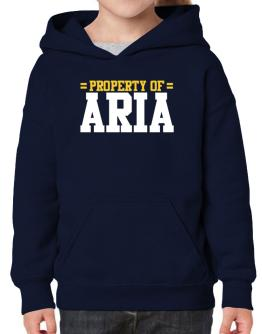 Property Of Aria Hoodie-Girls