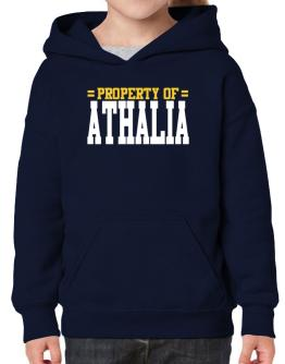 Property Of Athalia Hoodie-Girls