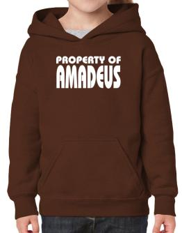 """ Property of Amadeus "" Hoodie-Girls"