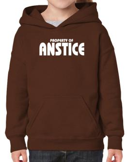 Property Of Anstice Hoodie-Girls