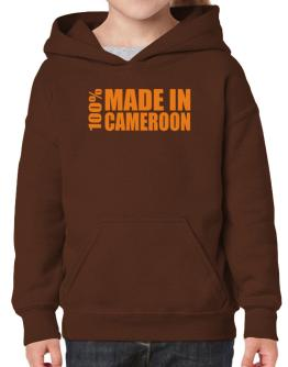 100% Made In Cameroon Hoodie-Girls