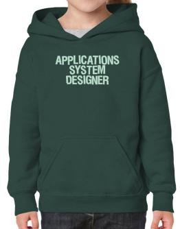 Applications System Designer Hoodie-Girls