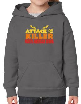 Attack Of The Killer North American Bisons Hoodie-Girls