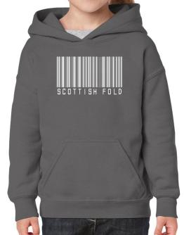 Scottish Fold Barcode Hoodie-Girls