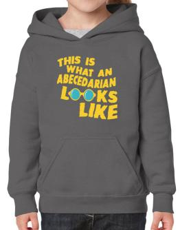 This Is What An Abecedarian Looks Like Hoodie-Girls