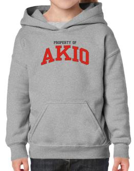 Property Of Akio Hoodie-Girls