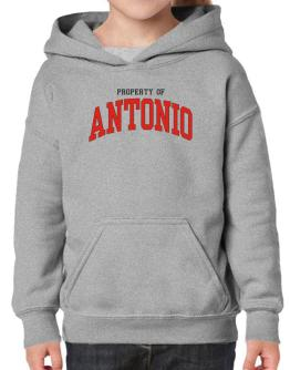 Property Of Antonio Hoodie-Girls