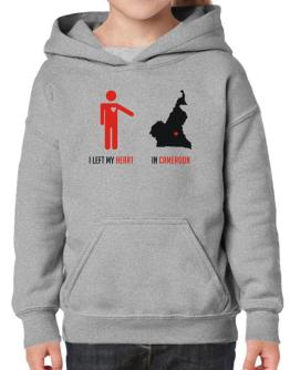 I Left My Heart In Cameroon - Map Hoodie-Girls
