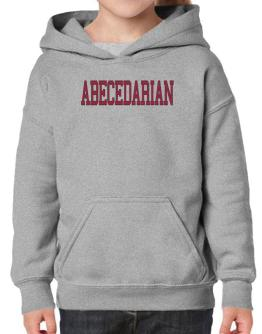 Abecedarian - Simple Athletic Hoodie-Girls