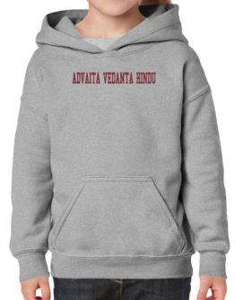 Advaita Vedanta Hindu - Simple Athletic Hoodie-Girls
