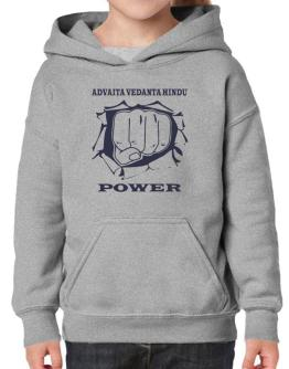 Advaita Vedanta Hindu Power Hoodie-Girls