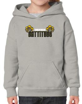 Chartreux Cattitude Hoodie-Girls