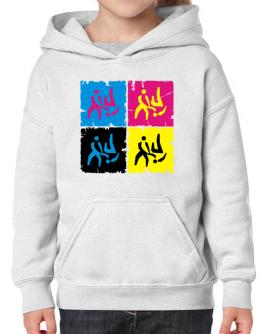 Aikido - Pop Art Hoodie-Girls