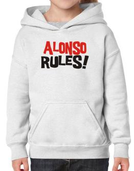 Alonso Rules! Hoodie-Girls