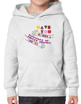 Have You Hugged A Disciples Of Chirst Member Today? Hoodie-Girls