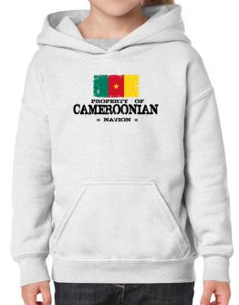 Property of Cameroonian Nation Hoodie-Girls