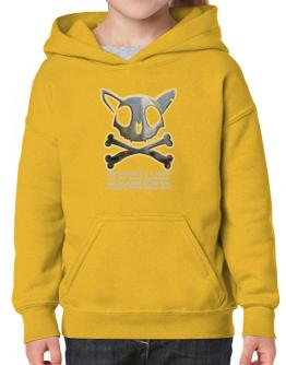 The Greatnes Of A Nation - California Spangled Cats Hoodie-Girls