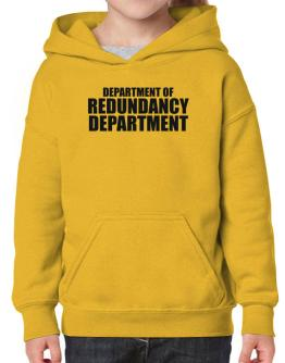 Department Of Redundancy Department Hoodie-Girls