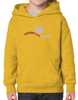 There Is No Way To Peace, Peace Is The Way Hoodie-Girls