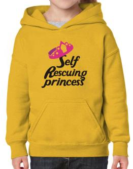 Self Rescuing Princess Hoodie-Girls