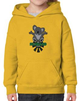Koalafied for a hug Hoodie-Girls