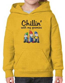 Chillin With my gnomies Hoodie-Girls