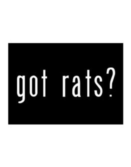 Got Rats? Sticker