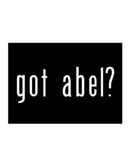 Got Abel? Sticker