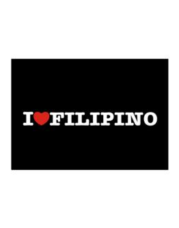 I Love Filipino Sticker
