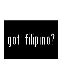 Got Filipino? Sticker