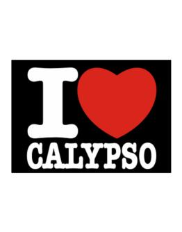 I Love Calypso Sticker