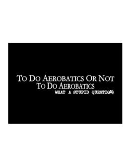To Do Aerobatics Or Not To Do Aerobatics, What A Stupid Question Sticker