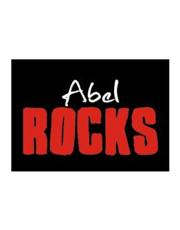 Abel Rocks Sticker