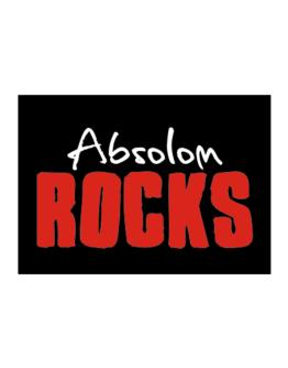 Absolom Rocks Sticker