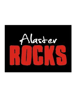 Alaster Rocks Sticker