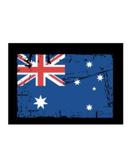 """ Australia - Vintage Flag "" Sticker"