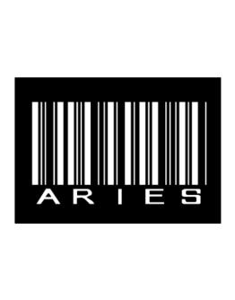 Aries Barcode / Bar Code Sticker